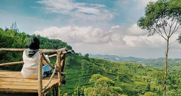Wisata Bandung Barat Bukit Senyum, Cikalong Wetan