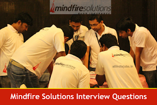 Mindfire Solutions Interview Questions