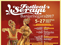Jadwal Festival Serayu Banjarnegara 2017