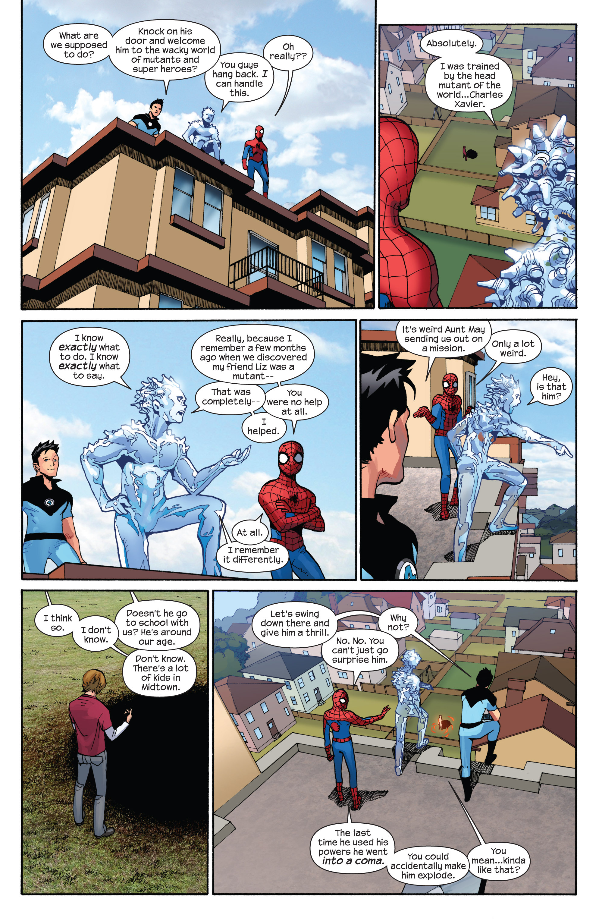 Read online Ultimate Spider-Man (2009) comic -  Issue #7 - 15