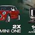 Castiga 2 autoturisme Mini One XP 91 + 100 Espressoare Doncafe EGO