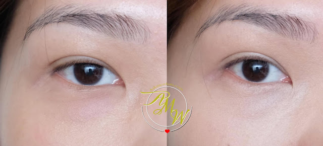 before and after photo of Innisfree Smart Drawing Color Correcting Review by Nikki Tiu of www.askmewhats.com