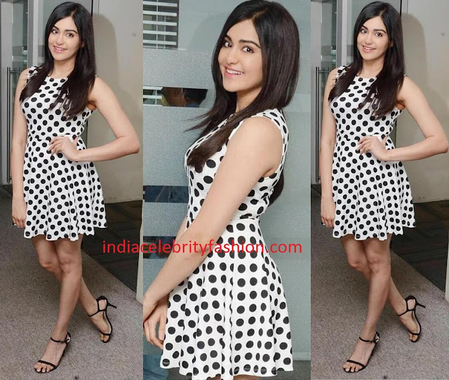 Adah Sharma in Forever21 Dress