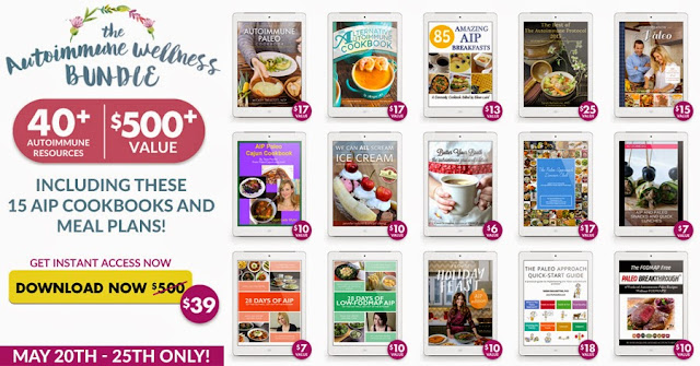 AIP cookbooks and meal plan