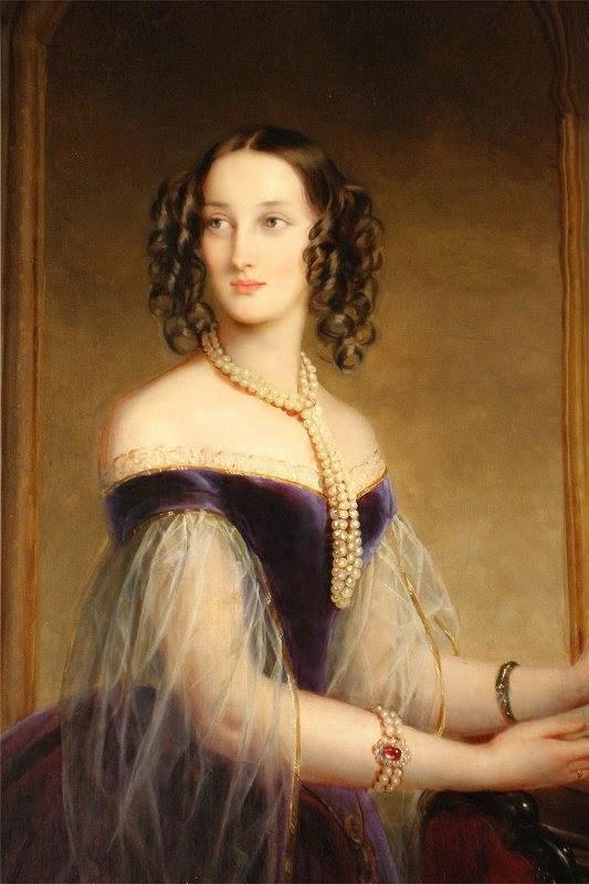La Grande Duchesse Maria Nikolaevna de Russie, Duchesse de Leuchtenberg (1840), Christina  Robertson