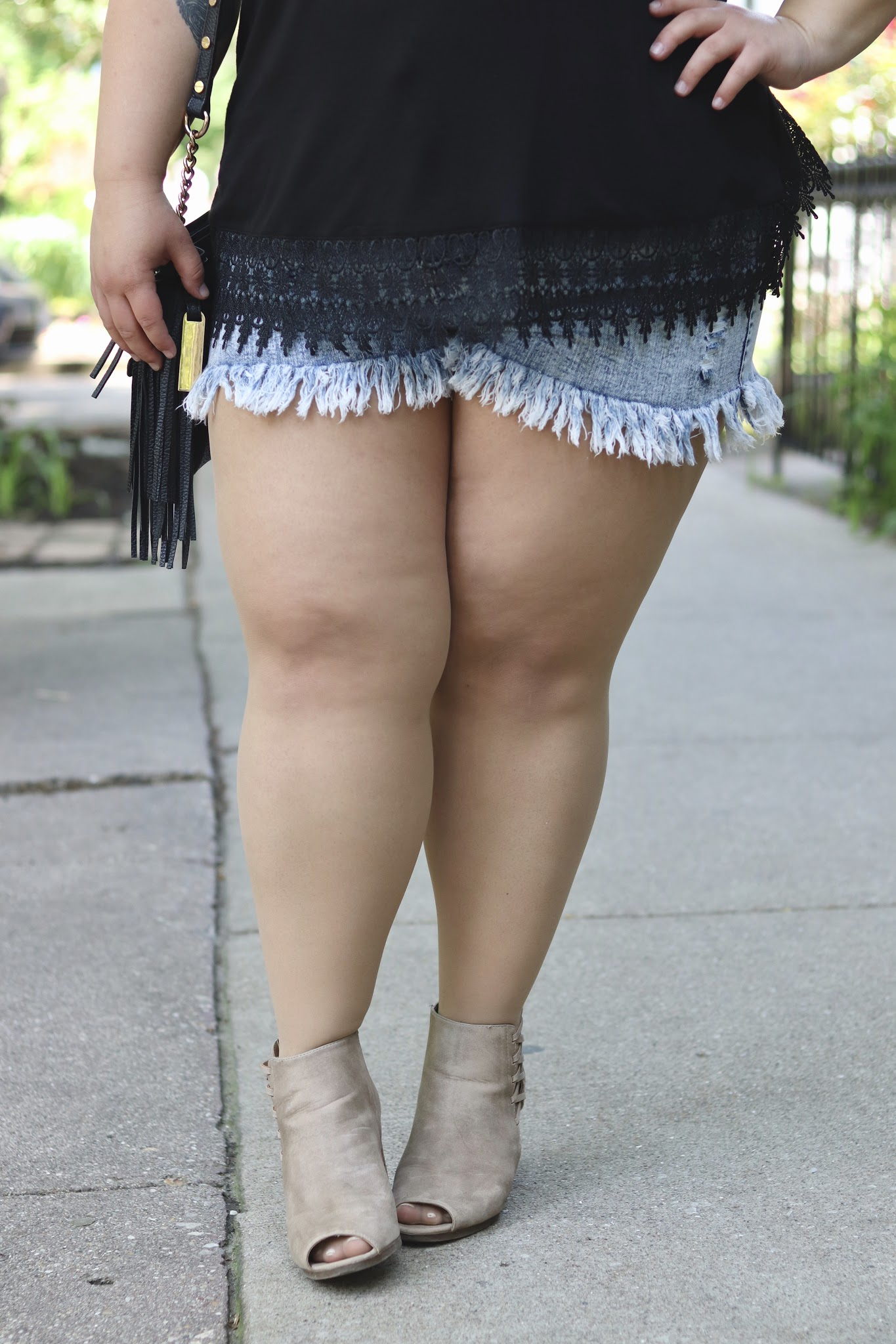 Natalie in the City shares here favorite chub rub help and tips from plus size opaque tights to anti-chafe shorts and balms.