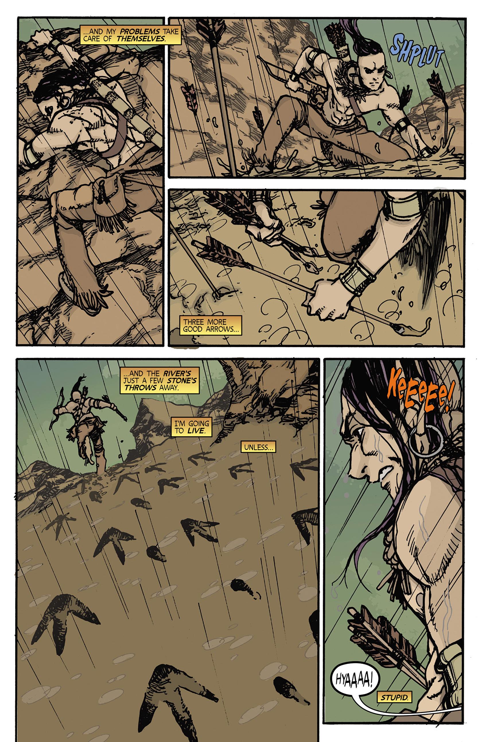 Read online Turok: Dinosaur Hunter (2014) comic -  Issue #5 - 6
