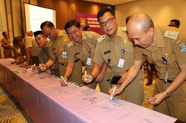 DPPA Gandengan Camat Deklarasikan Sayang Barudak