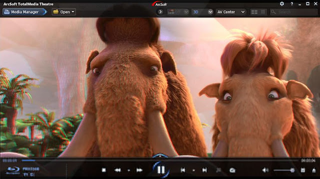 Arcsoft total media theatre top free best video player for watching 3d movies or video on PC