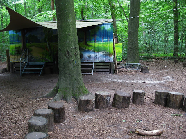 Forest Kindergarten in Germany