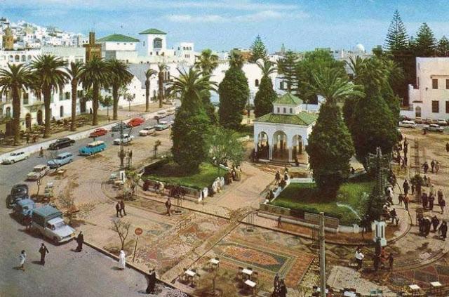 ساحة الفدان بتطوان Feddan Square in Tetouan