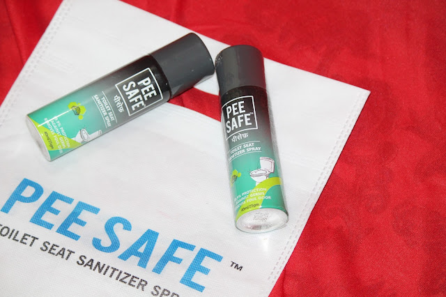 PEE SAFE - Toilet Seat Sanitizer