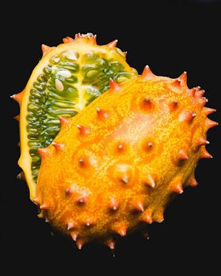 Buah Horned Melon (Melon Tanduk)