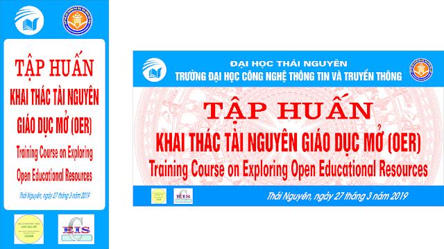Tập huấn: Khai thác Tài nguyên Giáo dục Mở (OER) tại Trường Đại học CNTT-TT, Đại học Thái Nguyên