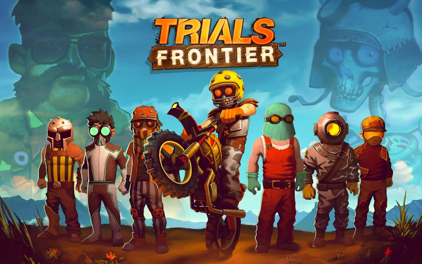 Trials Frontier 2.5.0 MOD ( Unlimited Money ) Full Apk + Data