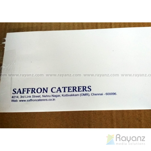 envelope single color printing sample