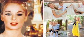 H «Κόρη» της Αλίκης Βουγιουκλάκη παντρεύτηκε και ποζάρει με τα δίδυμα αγόρια της
