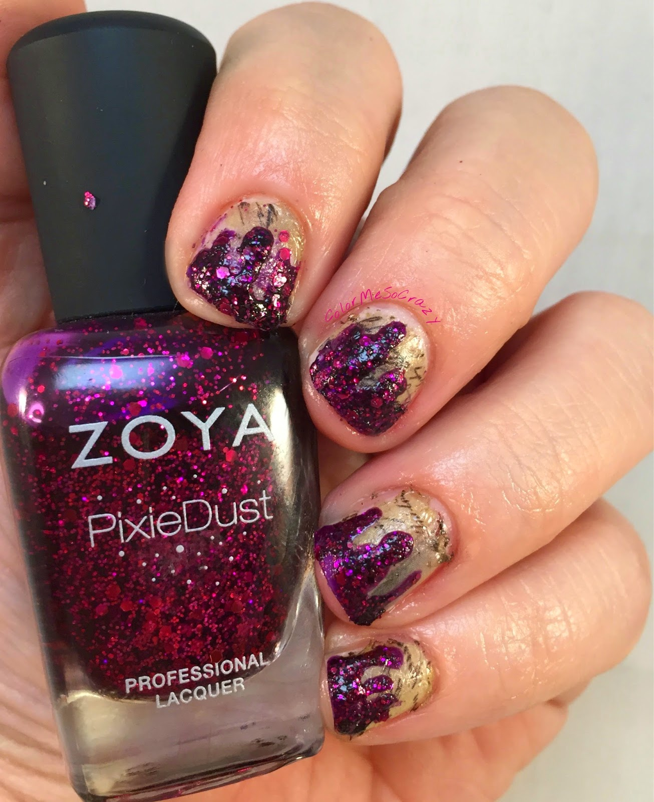 Red Coat Tuesday using Zoya, Episode 18 season 5 recap
