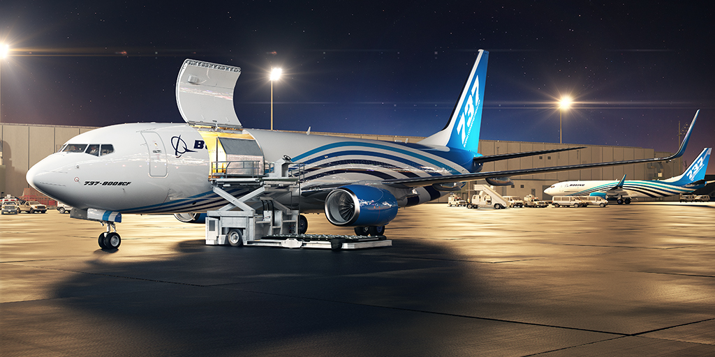 Boeing Launches Freighter 737-800 BCF