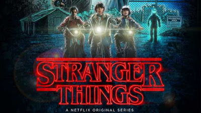 "Bir Netflix dizisi ""Stranger Things"""