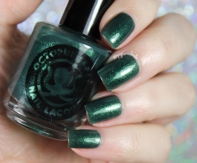 Octopus Party Nail Lacquer Legal Tender