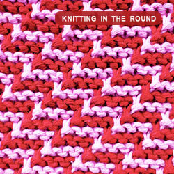 Knitting Stitch Pattern - Beautiful Slip Stitch Pattern. Worked in the round.