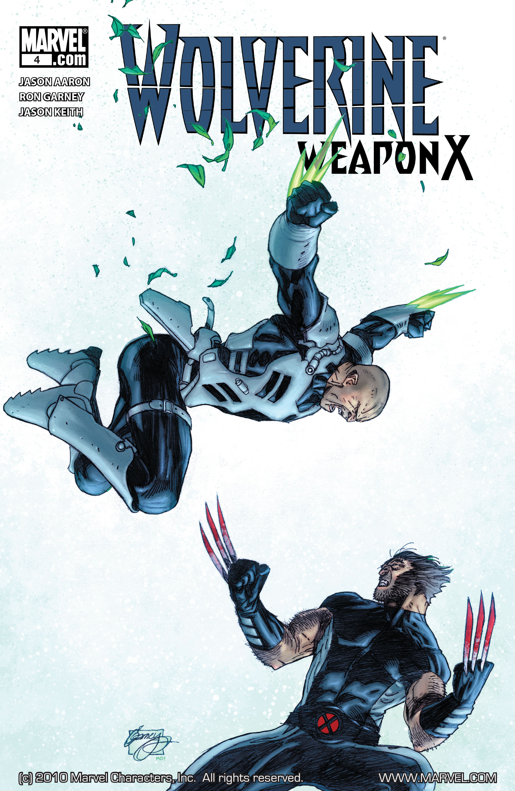 Read online Wolverine: Weapon X comic -  Issue #4 - 1