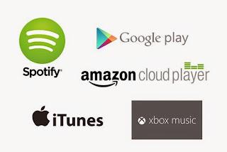 Prezzi delle canzoni più convenienti:  iTunes, Spotify, Google Play?