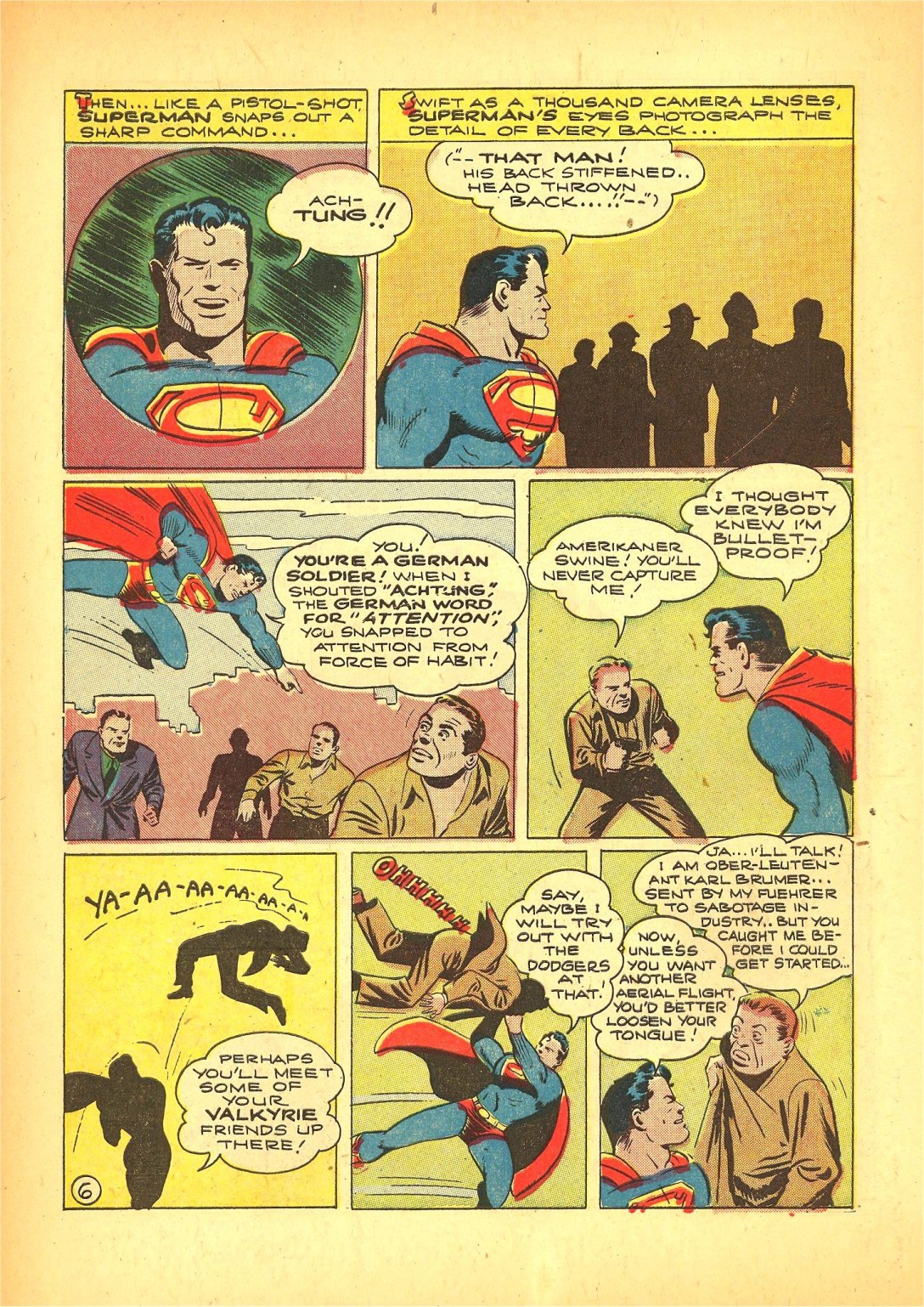 Read online Action Comics (1938) comic -  Issue #72 - 7