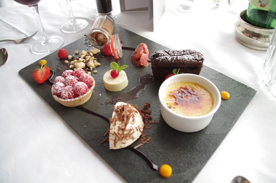 The Restaurant The Headland Hotel Dessert