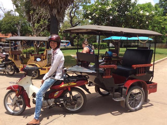 Siem Reap Motodup or Motorcycle Taxi