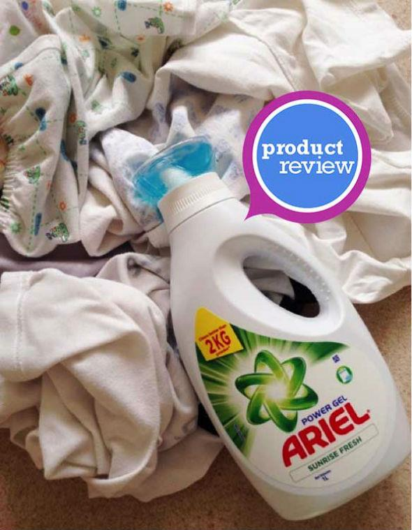 MrsMommyHolic: Product Review: Ariel Power Gel Concentrated