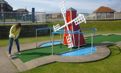 The Arnold Palmer Crazy Golf course in Whitby