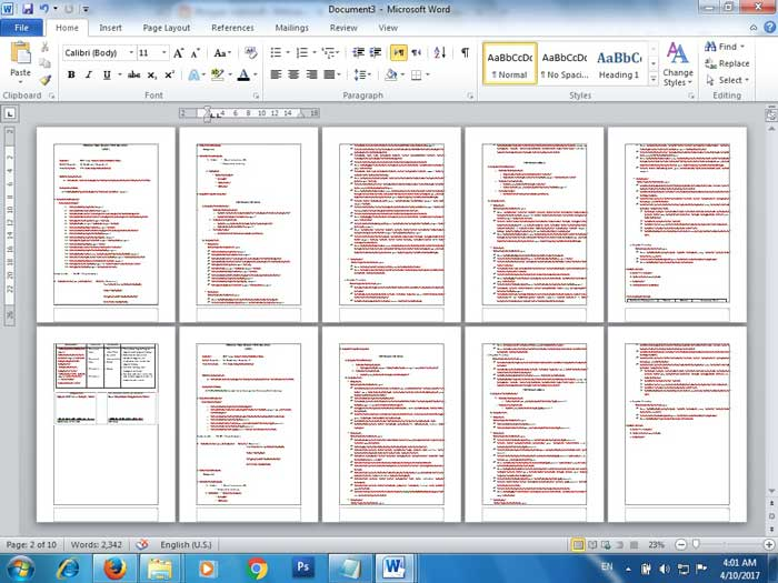 How to Print Two-Sided Documents in Microsoft Word 2010