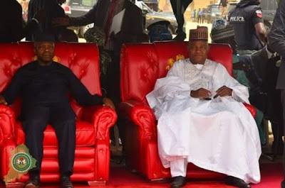 Osinbajo Dares Boko Haram, Storms Maidiguri ....See Photos