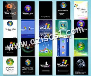 20 Screensavers Ponsel Tema WINDOWS