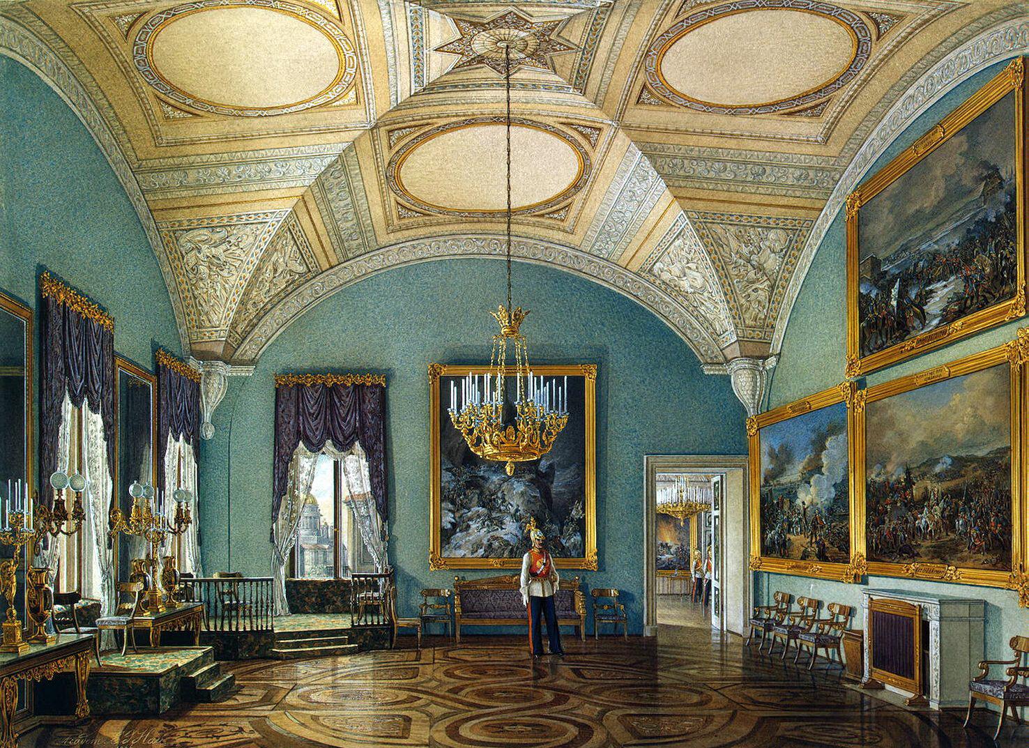 The Glory Of Russian Painting Edward Petrovich Hau Ctd
