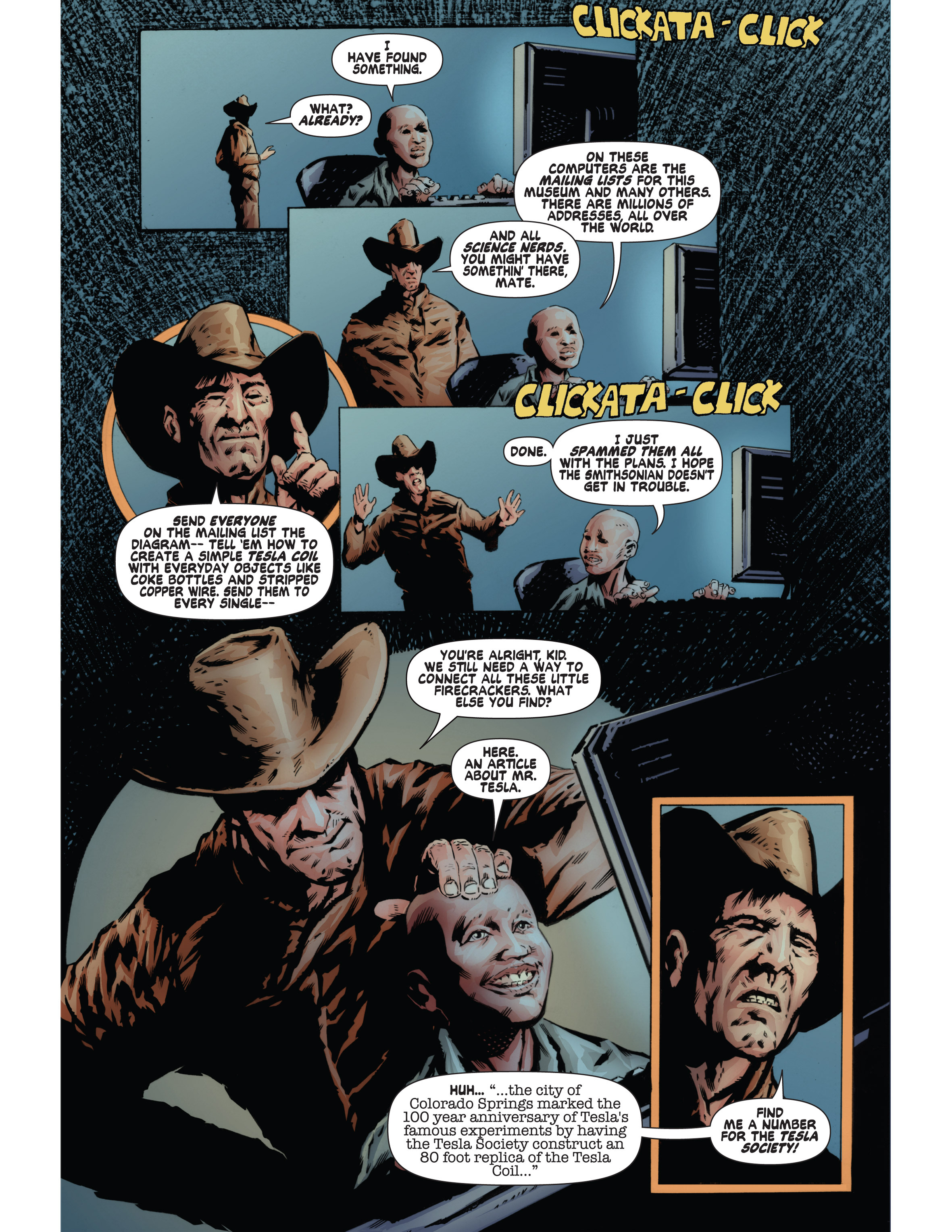Read online Bad Planet comic -  Issue # TPB - 125