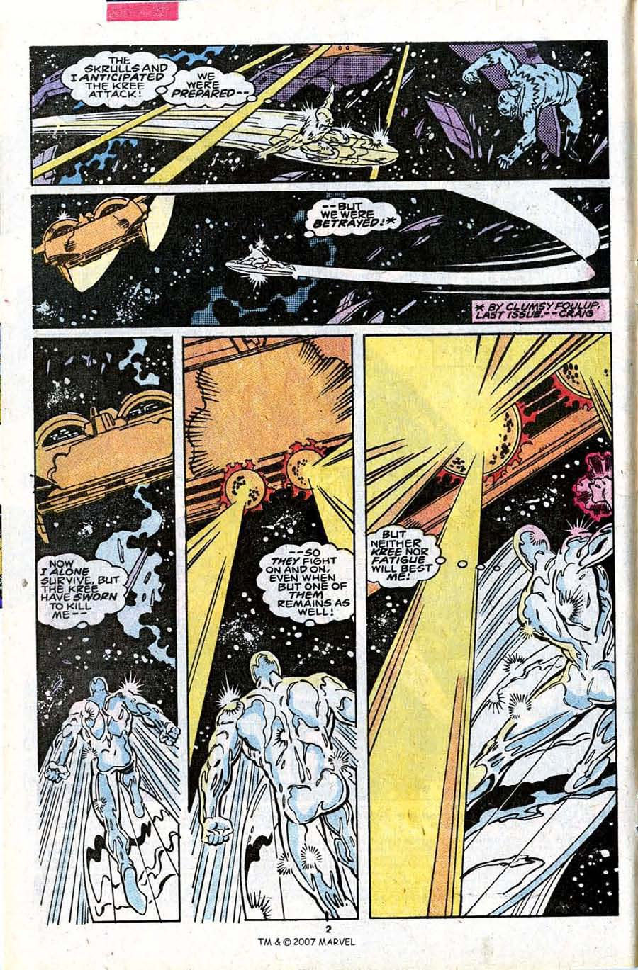 Read online Silver Surfer (1987) comic -  Issue #30 - 4