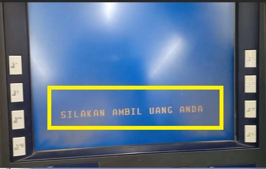 Mesin ATM Sedang Memproses 2