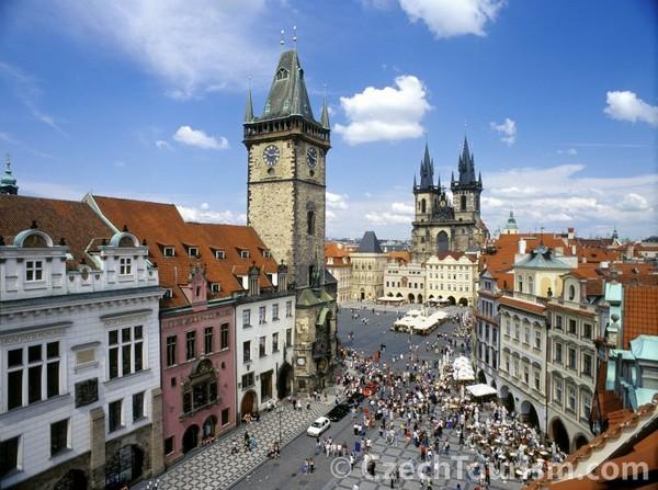 Plaza de la Ciudad Vieja (Praga, República Checa)