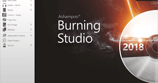Ashampoo Burning Studio 2018 Giveaway Full Version