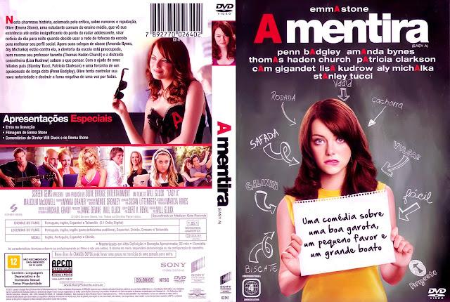Capa DVD A Mentira