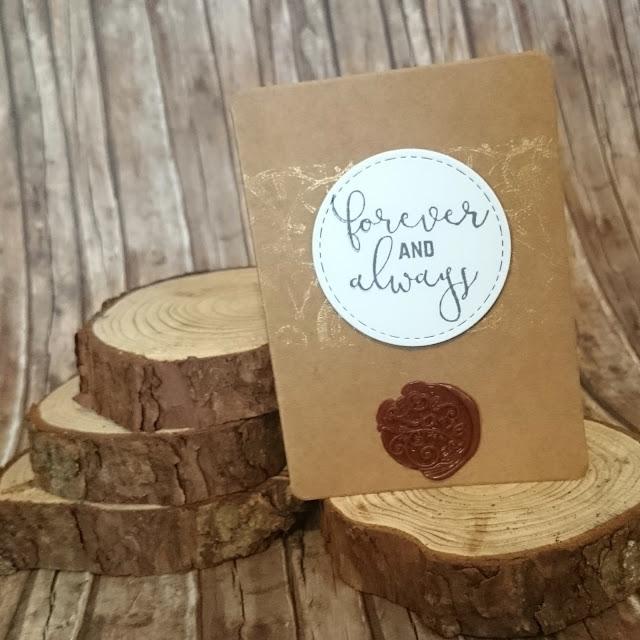 [DIY] Forever And Always: Vintage Wedding Card with Sealing Wax // Für Immer und Ewig: Vintage Hochzeits-Karte mit Siegelwachs