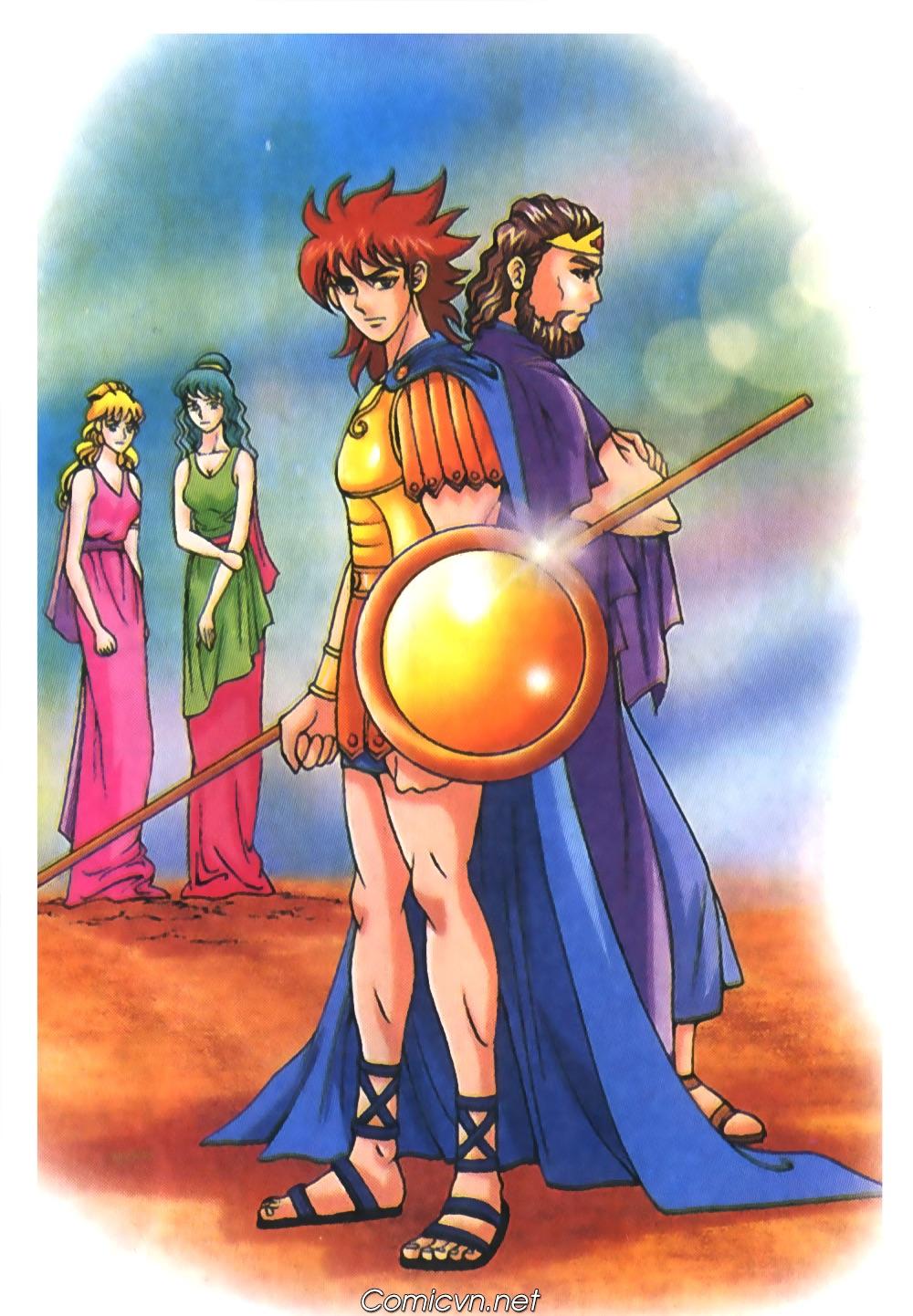 Thần Thoại Hy Lạp Màu - Chapter 56: Hai vị tướng và hai mỹ nữ - Pic 1