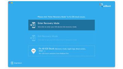 Cara Mudah Masuk dan Keluar Recovery Mode iOS di iPhone dengan Aplikasi Reiboot