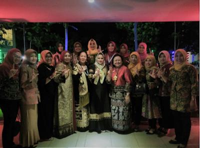 Yustin Ficardo Hadiri Dinner Talk dan Seremonial PI ISEI Lampung