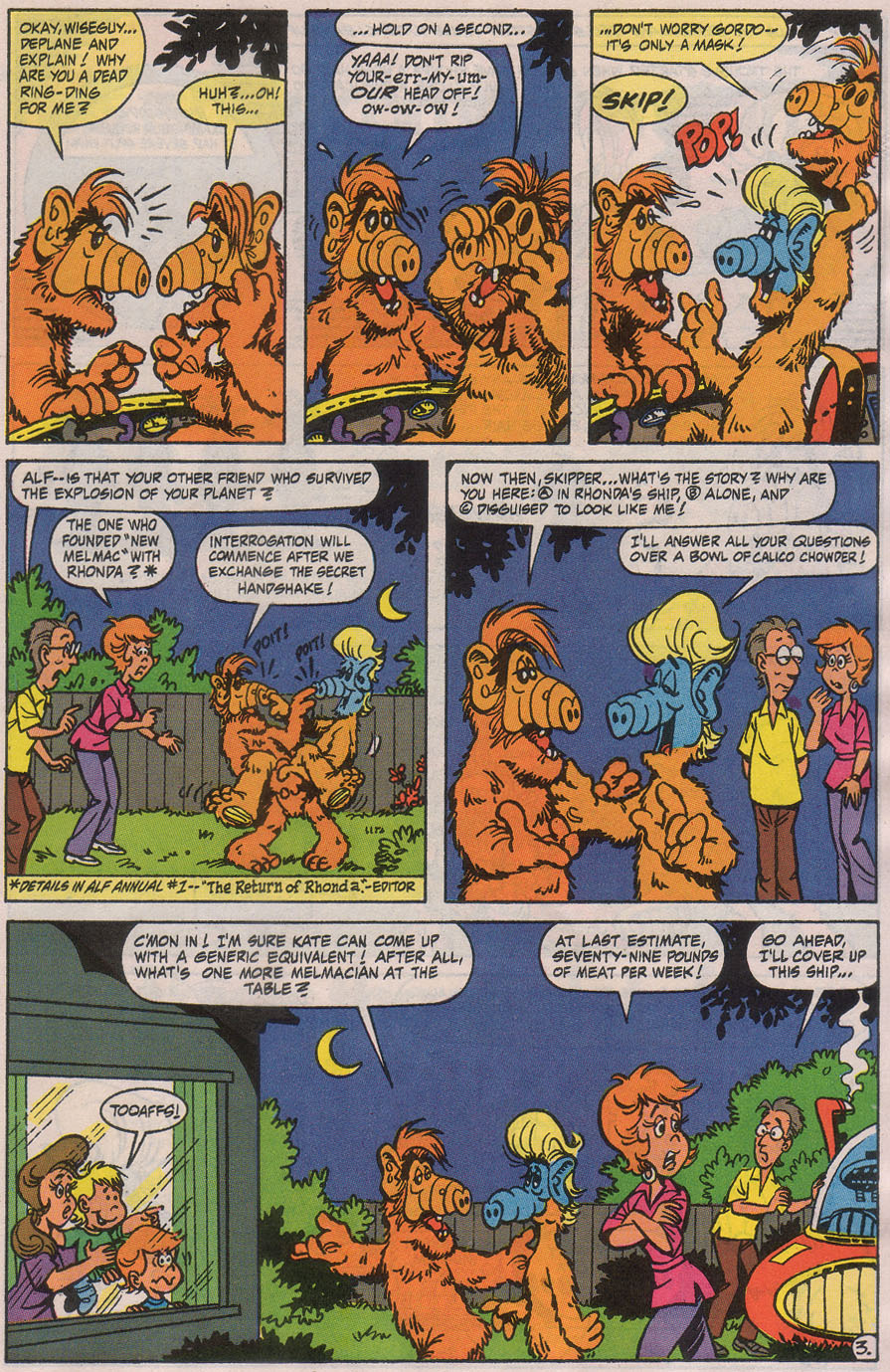 Read online ALF comic -  Issue #42 - 5