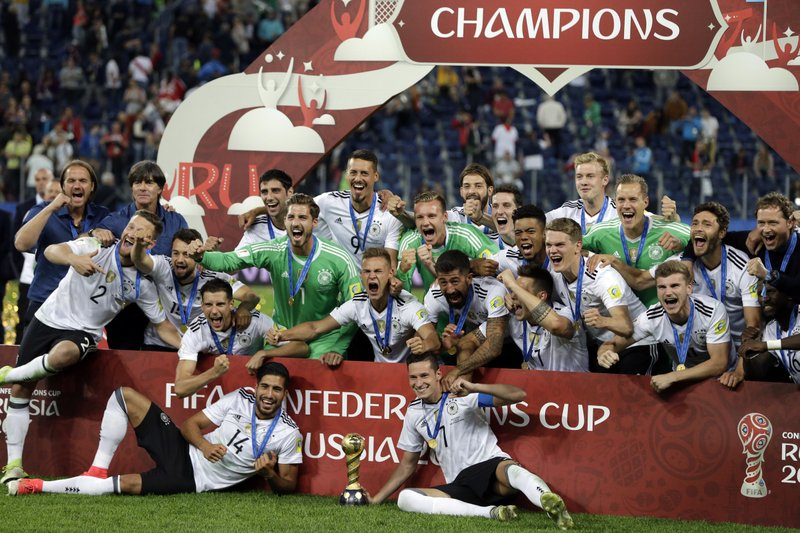 Germany's experimental Side overcame street-wise Chile to win a bruising Confederations Cup final 1-0