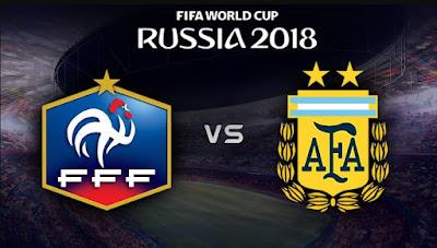 ميسى فى طى النسيان ,فرنسا تقهر الأرجنتين بقيادة مبابى برباعية , دور 16 كأس العالم 2018